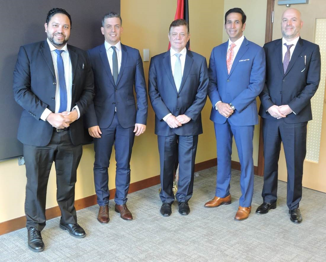 AG meets with World Intellectual Property Organization (WIPO) representatives